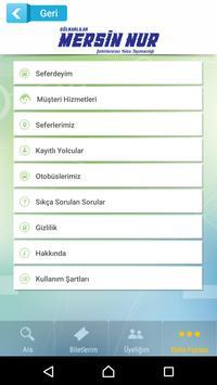 Mersin Nur Turizm apk screenshot