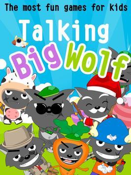 Talking Big Wolf apk screenshot