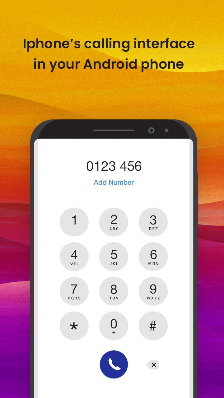 Phone Dialer - Dialer Theme Style OS 12 for Android - APK