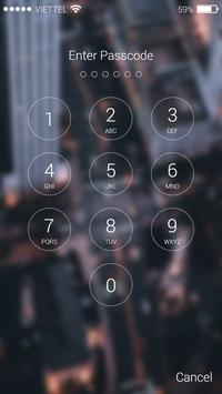 Keypad Lock Screen Poster