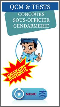 QCM Concours s/off Gendarme. poster