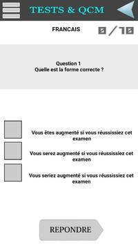QCM Concours s/off Gendarme. apk screenshot