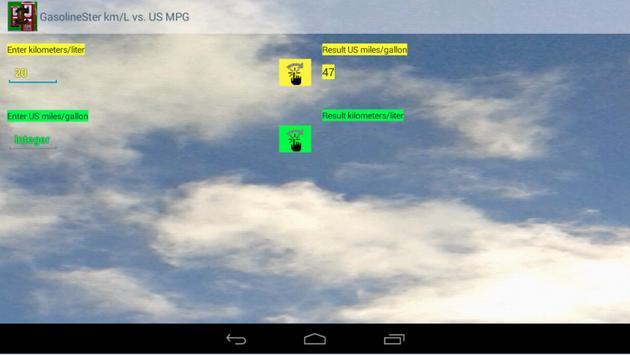 km/L vs. US MPG GasolineSter screenshot 5