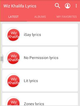 Wiz Khalifa Lyrics poster