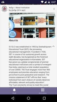 Seshadripuram First Grade College, Yelahanka screenshot 1