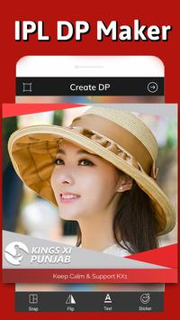 KXIP DP maker – IPL Profile Picture maker screenshot 1