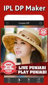 KXIP DP maker – IPL Profile Picture maker screenshot 3