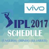 IPL 2017 SCHEDULE icon