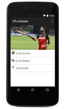 Live IPL 2017 Tv Schedule apk screenshot