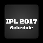 IPL Schedule 2017 icon