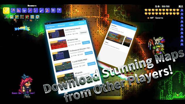 Launcher for Terraria (Mods) apk screenshot