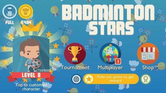 Badminton Stars screenshot 5