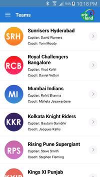 IPL Cricket Score Updates 2018 screenshot 3