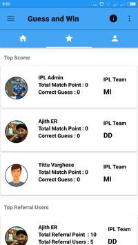 Guess The Winner apk screenshot