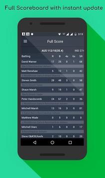World Cricket: I.P.L T20 2017 apk screenshot