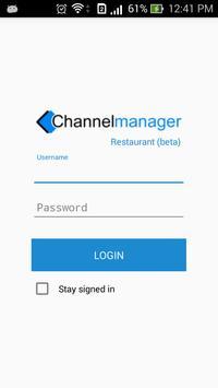 ChannelManager Restaurant poster