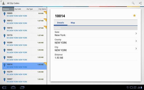 US Zip codes Lite screenshot 4