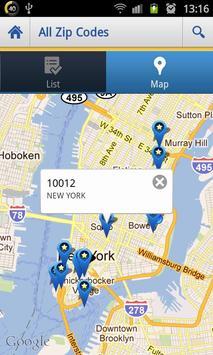 US Zip codes Lite screenshot 1