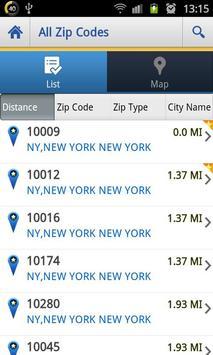 US Zip codes Lite screenshot 2