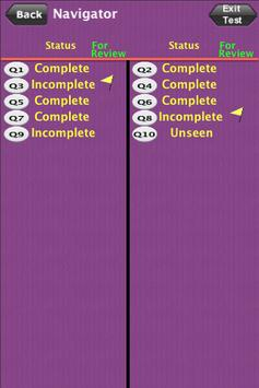 PAPA Math Practice Test Lite apk screenshot