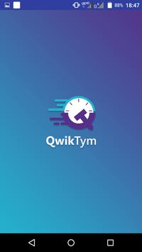 QwikTym Carrier poster