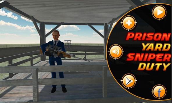 Prison Yard Sniper poster