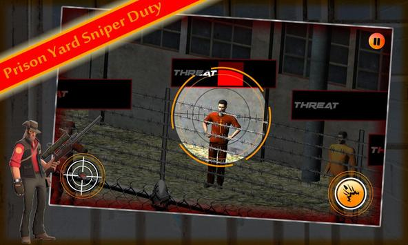 Prison Yard Sniper apk screenshot