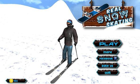 Real Snow Skating Simulator apk screenshot