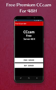 Free cccam for 48h poster