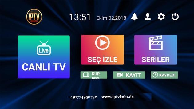 IPTV KOLN ảnh chụp màn hình 2