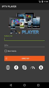 IPTV PLAYER apk screenshot