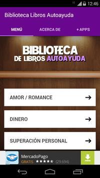 Biblioteca Libros Autoayuda apk screenshot