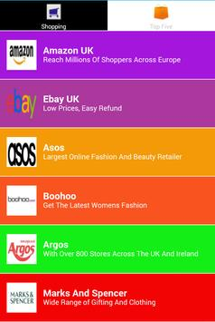 All In One Online Shopping- UK apk screenshot