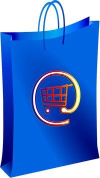 alles in einem Online-Shopping poster