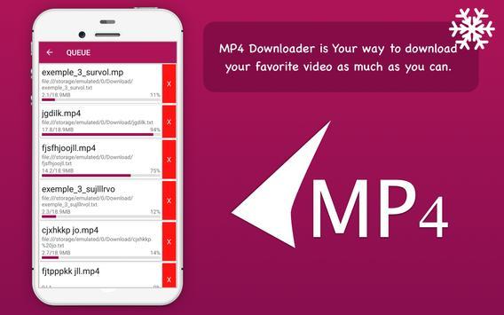 MP4 video downloader apk screenshot