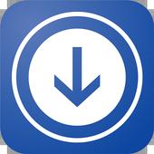 downloader for facebook icon