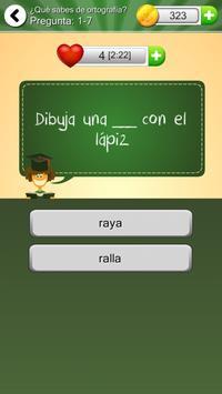 ¿Qué sabes de Ortografía? screenshot 14