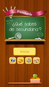 ¿Qué sabes de Secundaria? poster