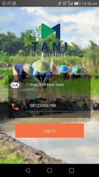 M-Tani Application 2.0 poster
