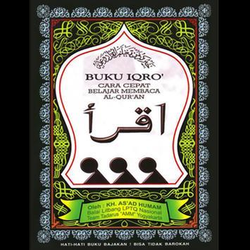 Buku Iqro Indonesia poster