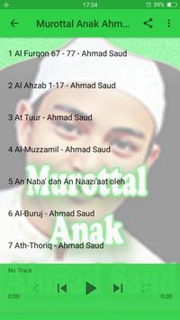 Murottal Anak Ahmad Saud screenshot 4
