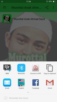 Murottal Anak Ahmad Saud screenshot 3