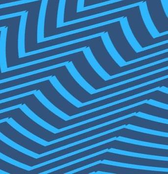 IQQI Blue Striple Theme poster