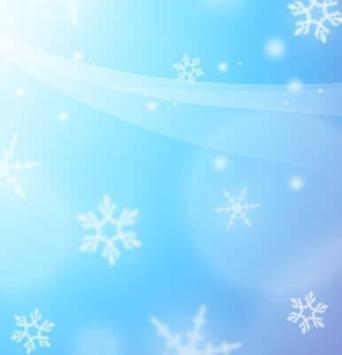IQQI Blue Snow Theme poster