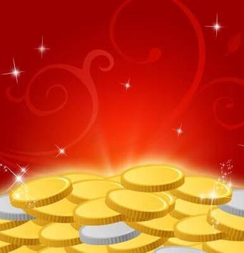 IQQI Golden Coins Theme apk screenshot