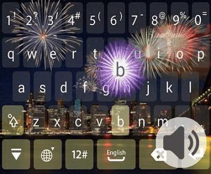 IQQI Firework Theme apk screenshot