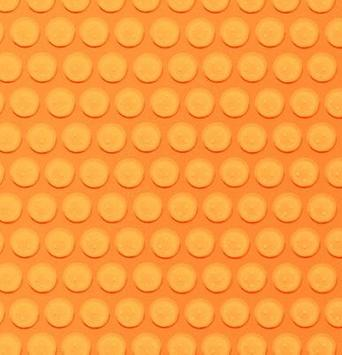 IQQI Orange Bobble Theme apk screenshot