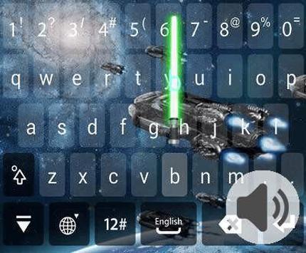 IQQI Lightsaber Theme apk screenshot