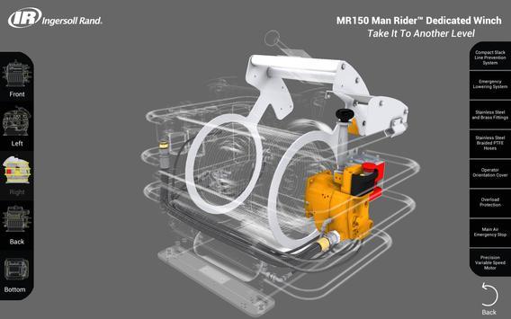 MR150 Man Rider Winch Tour apk screenshot