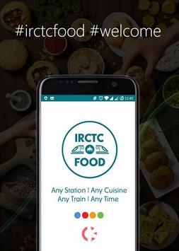 IRCTC Food poster